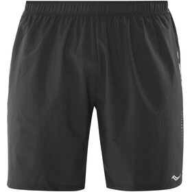 "saucony Sprint Woven 7"" Shorts Men Black"
